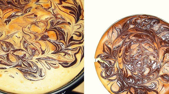 Low Carb Rezept für einen Low-Carb Schoko-Käsekuchen. Wenig Kohlenhydrate und einfach zum Nachkochen. Super für Diät/zum Abnehmen.