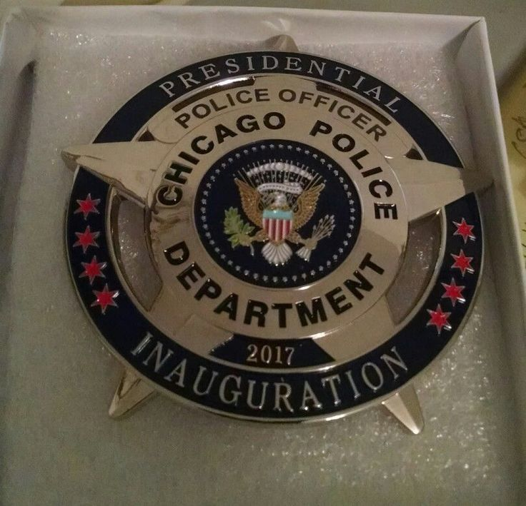 2017 Chicago Police Officer Inauguration Badge  | Collectibles, Historical Memorabilia, Police | eBay!