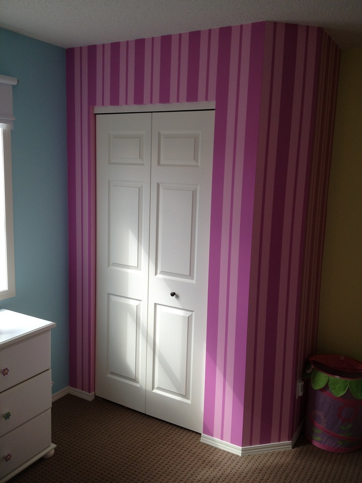Pinterest for Painting stripes on walls
