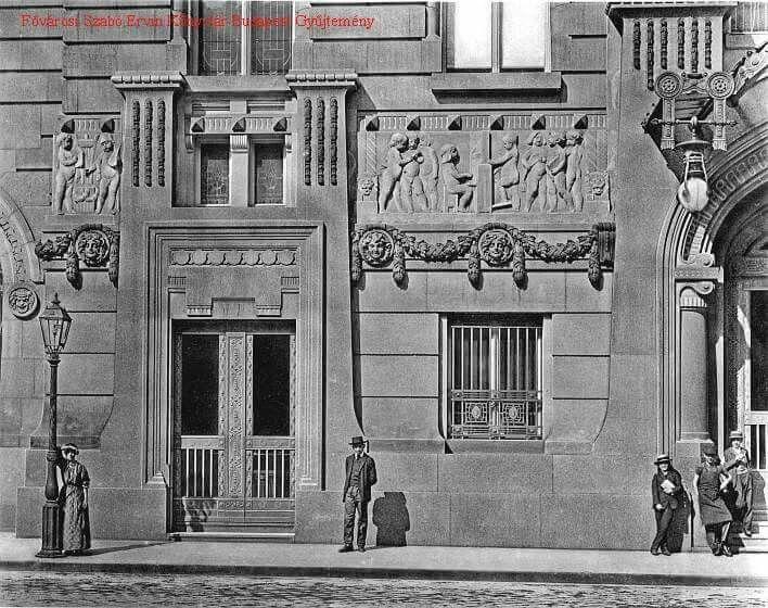 1910 körül, Zeneakadémia.