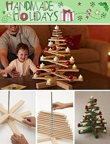 Albero di Natale in legno - wood Christmas tree