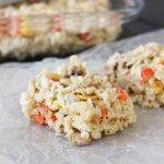 http://www.bakeyourday.net/peanuts-candy-corn-reeces-pieces-rice-krispie-treats/