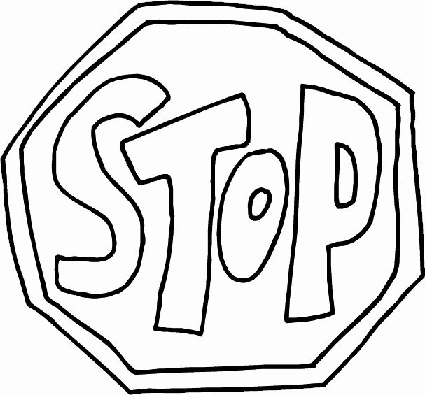 Stop Sign Coloring Page Elegant Free Printable Stop Sign Clipart Best In 2020 Coloring Pages Train Coloring Pages Cute Coloring Pages