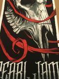 Pearl Jam - 2014 Brandon Heart poster print ACL Austin City Limits Zilker