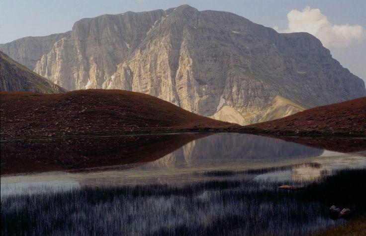 Drako Limni with Astraka, Northern Pindos Mountains, Greece