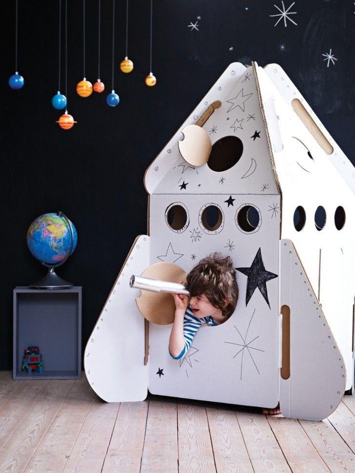 Muebles increíbles para niños: la silla cohete - DecoPeques