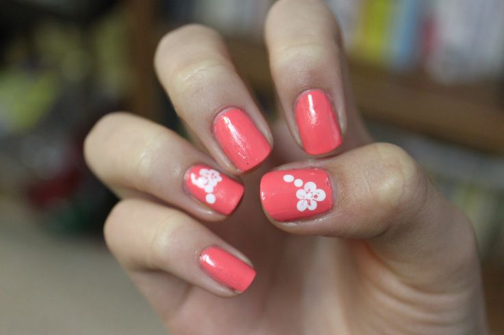 Designs Step Flower Nail Art Tutorial   Simple Nail Design Ideas ...