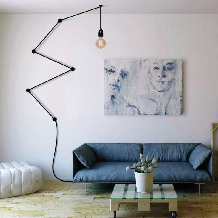 les 25 meilleures id es de la cat gorie lampe baladeuse sur pinterest baladeuse lumineuse. Black Bedroom Furniture Sets. Home Design Ideas