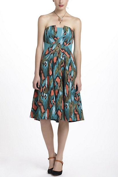 Painted Ikat Dress - Anthropologie.com