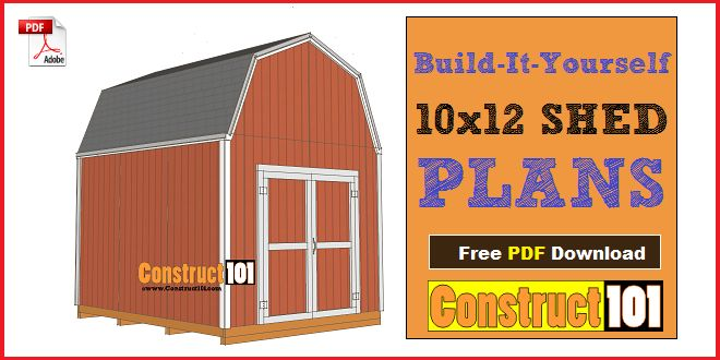 arrow 10x12 metal shed instructions