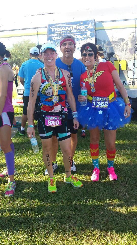 Wonder Woman Tutu super hero running Skirt by AandEcustomTUTUS