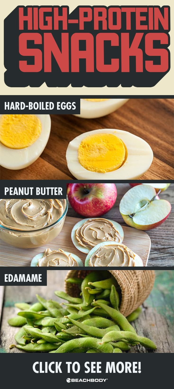 Check out these delicious and high protein snacks to keep you fueled up all day.  Dieting tips// high protein snacks // peanut butter// weight loss tips// hard boiled eggs// 21 Day Fix recipe // Meal prep // Meal planning// Best 21 Day Fix recipes // Beachbody // Beachbody blog