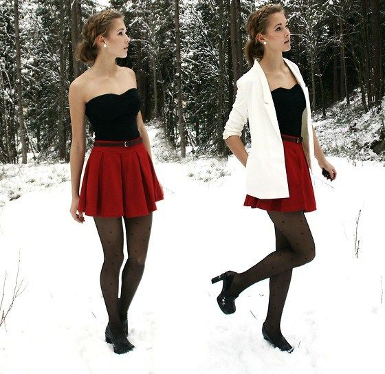 38 cute Christmas outfits for girls: Winter Outfit