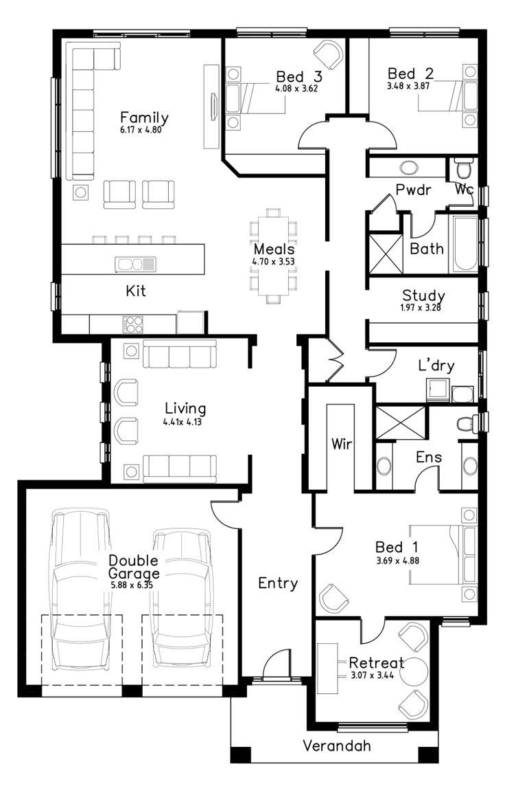 Mclaren dechellis homes house floor plans floor plans