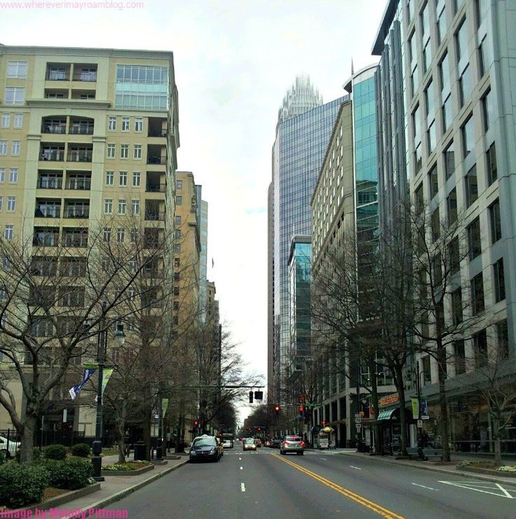 downtown Charlotte NC