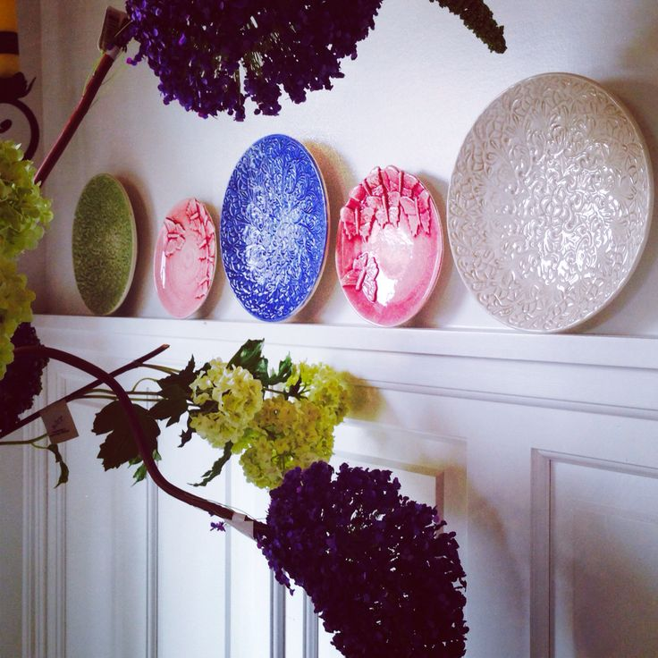Mateus ceramics as Wall Decor just pick your color