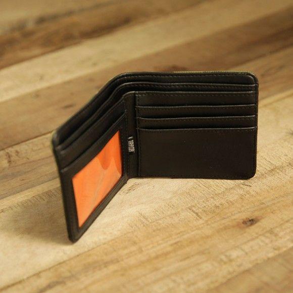 inside wallet 401. #wallet #canvaswallet #leatherwallet #insidewallet