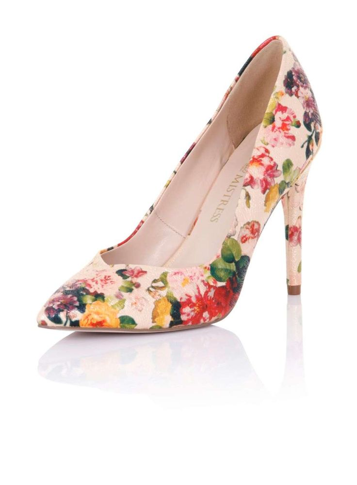 **Little Mistress Floral Multi Colour Court - Dorothy Perkins