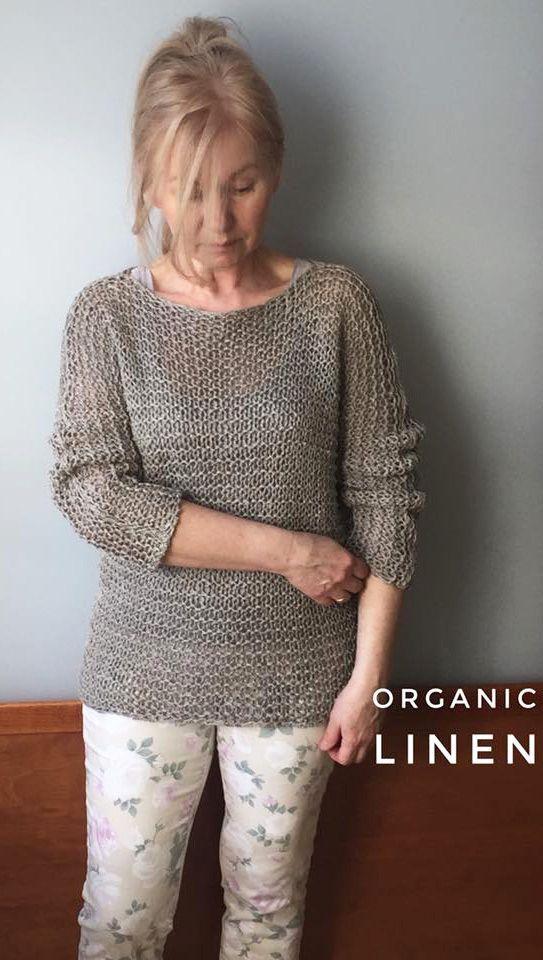 11b837ea874 Natural Linen sweater