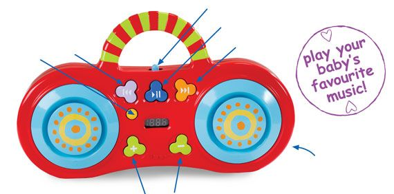 Taf Toys - My first mp3 Player