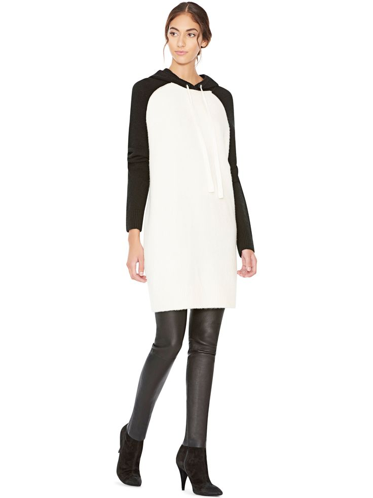 JAXSON HOODIE PULLOVER DRESS by Alice + Olivia