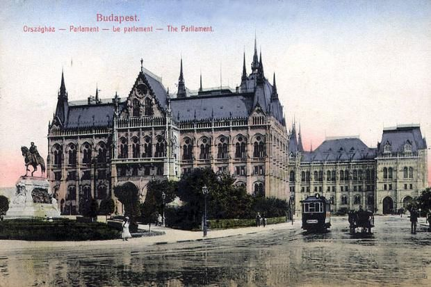 Budapest Parlament 1913
