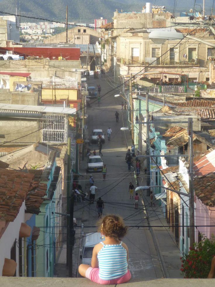 SANTIAGO DE CUBA ||| Street of Santiago de Cuba. Cuba.