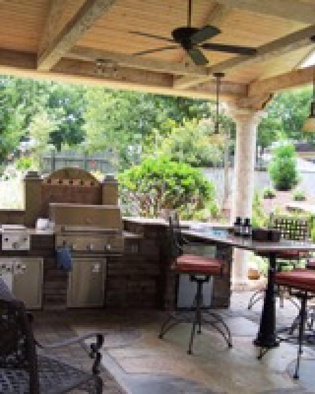 Best 25+ Small Outdoor Kitchens Ideas On Pinterest