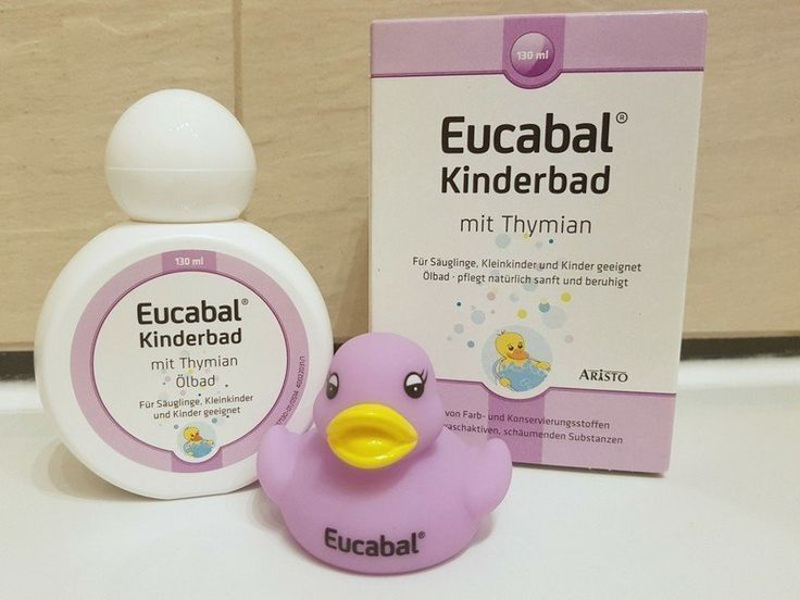Anzeige Unsere Hausmittel Gegen Erste Erkaltungsanzeichen Bei Kindern Eucabal Kinderbad Mit Thymian Kinderbad