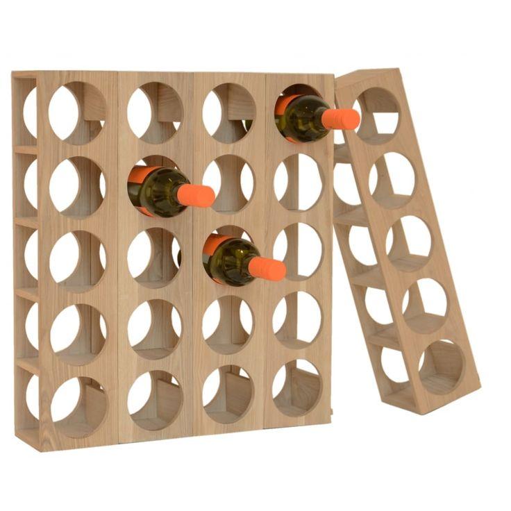Wine-O 5 Bottle Rack - Oak