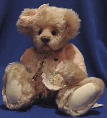Adopt a bear today PEACHES by: Donna Hager of Hager Bears