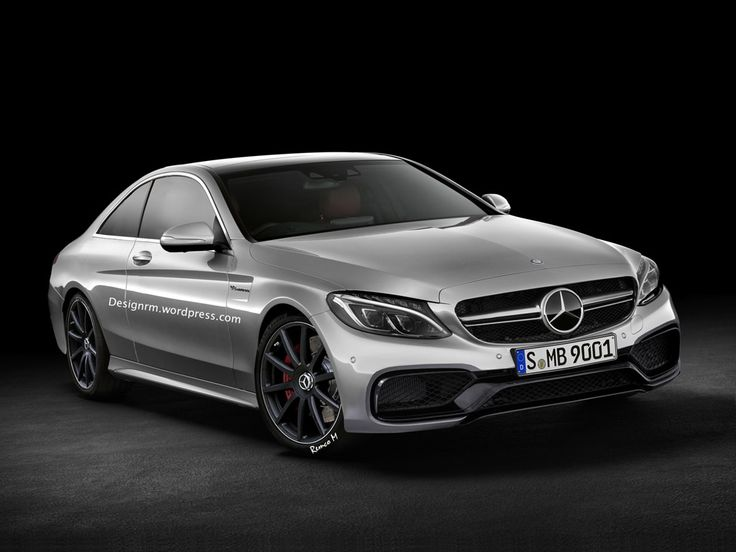 Rendering Of Upcoming Mercedes-Benz C63 AMG Coupe Unveiled on http://www.benzinsider.com
