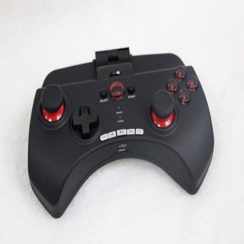 Bluetooth Wireless Game Controller Gamepad, Black for Smartphone/iOS iPhone/iPod/iPad/Android Phone/Tablet PC/Samsung