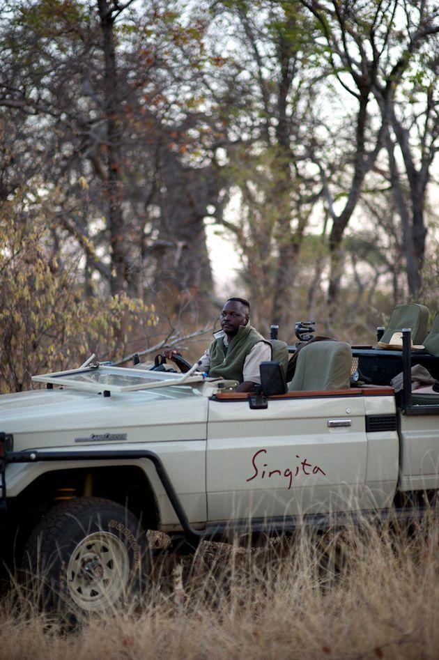 Tengwe Siabwanda, Field Guide at Singita Pamushana Lodge