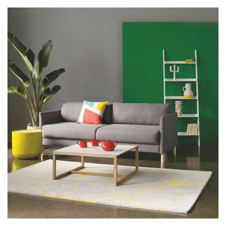 JESSIE White wide leaning bookcase | Buy now at Habitat UK