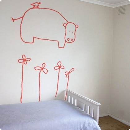 Jane Reiseger Hada The Hippo From The Wall Sticker Company. Part 15