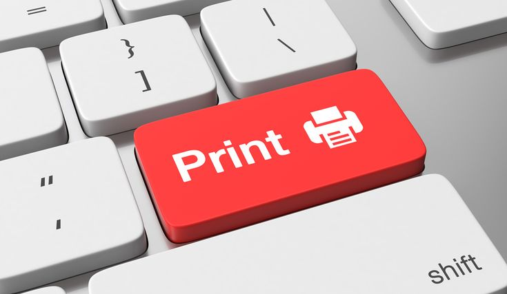 How much do you spend on printing ? Protected health