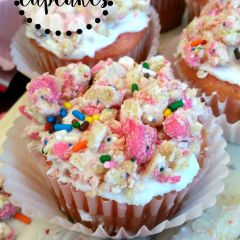 Animal Cookie Cupcakes Recipe