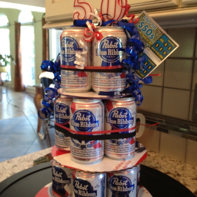 Happy 50th Birthday For My PBR Drinking Brother