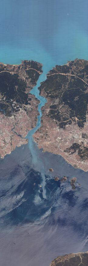 İstanbul a Bir de RASAT Uydusundan Bakın