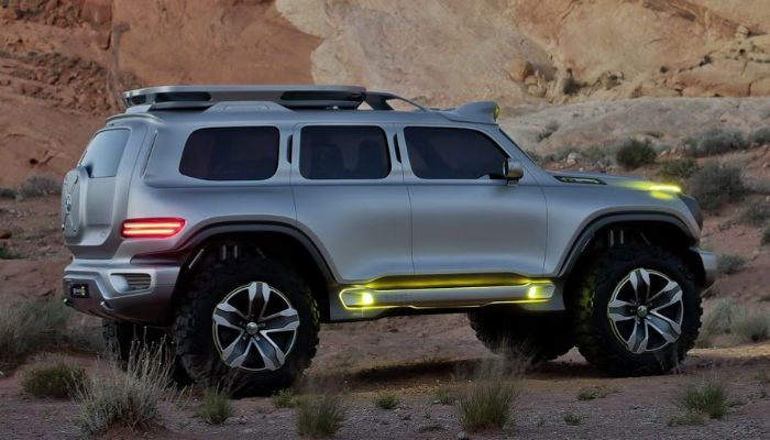 2017 Hummer H3 lights - Is this a concept/prototype photo, or is the new line really debuting in 2017?!?!?
