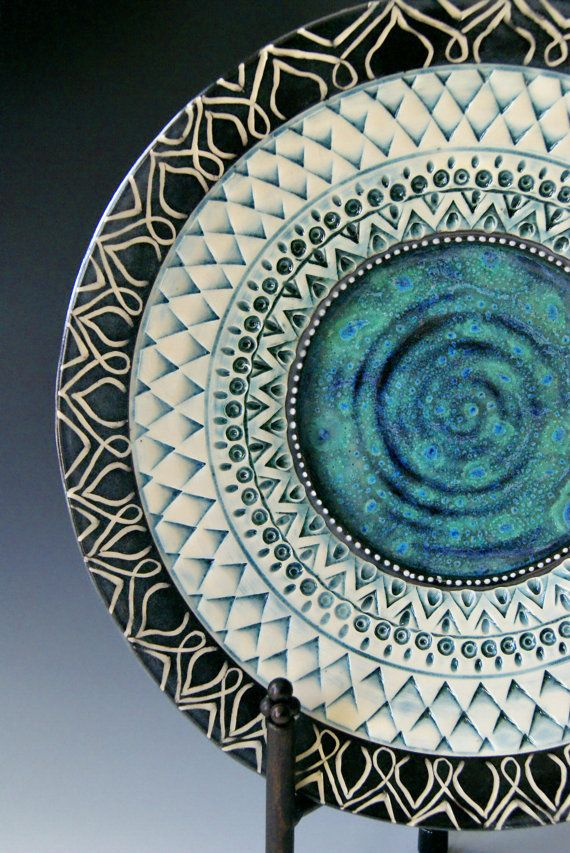 Platter / Made to Order / Large  Platter / by RiverStonePottery, $125.00