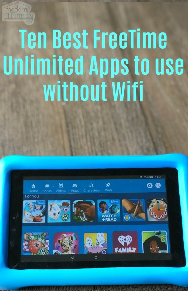 Ten Best FreeTime Unlimited Apps to use without Wifi | Road Trip