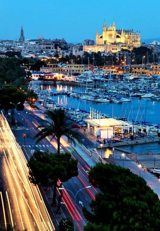 Palma de Mallorca, Spain.