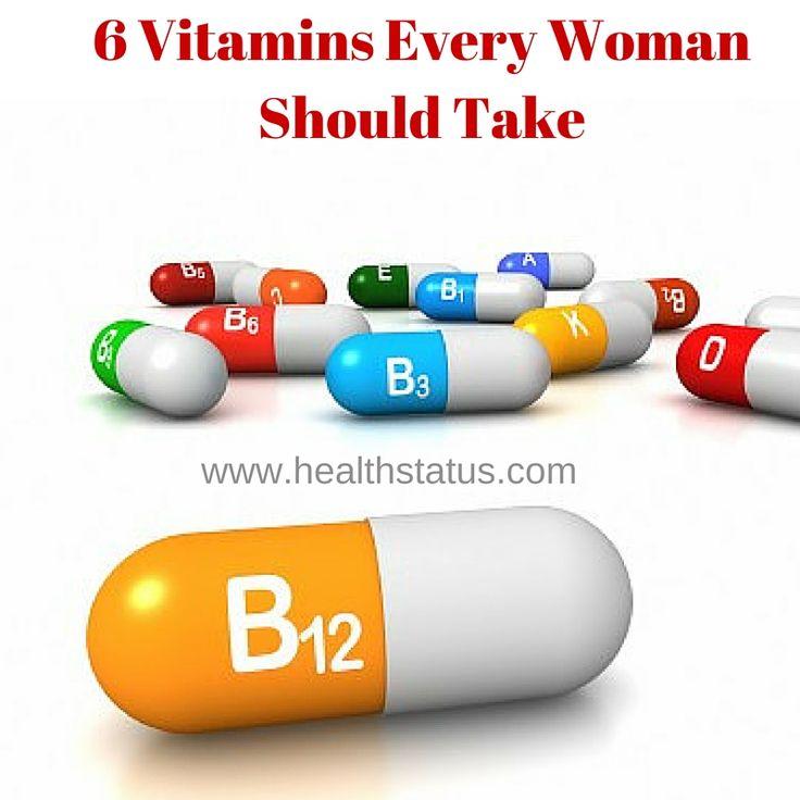 6 #Vitamins Every #Woman Should Take