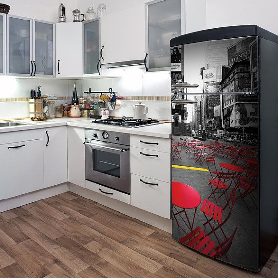 Kitchen Cabinet Skins: 37 Best Images About Appliance Decals On Pinterest