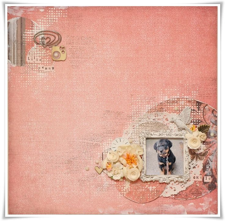 Layout made as DT Scrapki-Wyzwaniowo. Products used are 7dots Studio