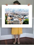 Rooftops of Paris art print: $215