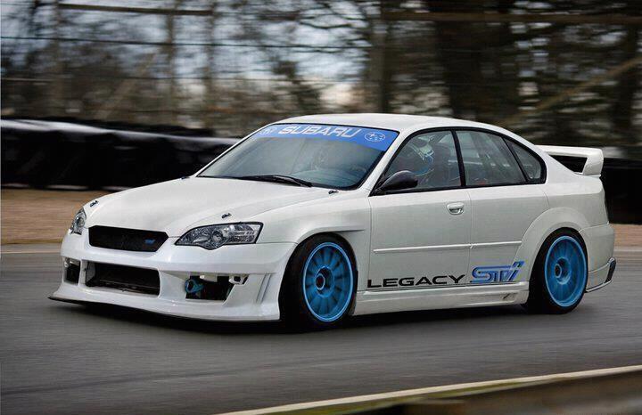 #Subaru Legacy STI