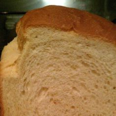 Until I found this recipe my bread didn't turn out very well.  Now, I make it nearly everyday.  It makes a great sandwich, too.  The only problem is that it doesn't last long enough around here!!  I finally LOVE my bread machine.  You can also make it on the dough cycle and then take it out and shape into rolls.